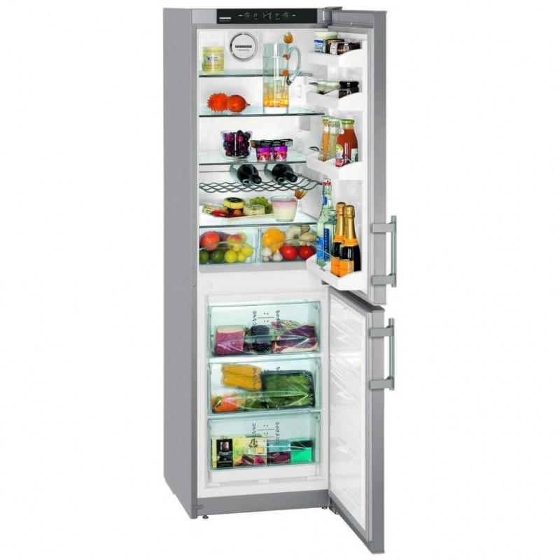 Узкий холодильник на 40, 45 или 50 см двухкамерный