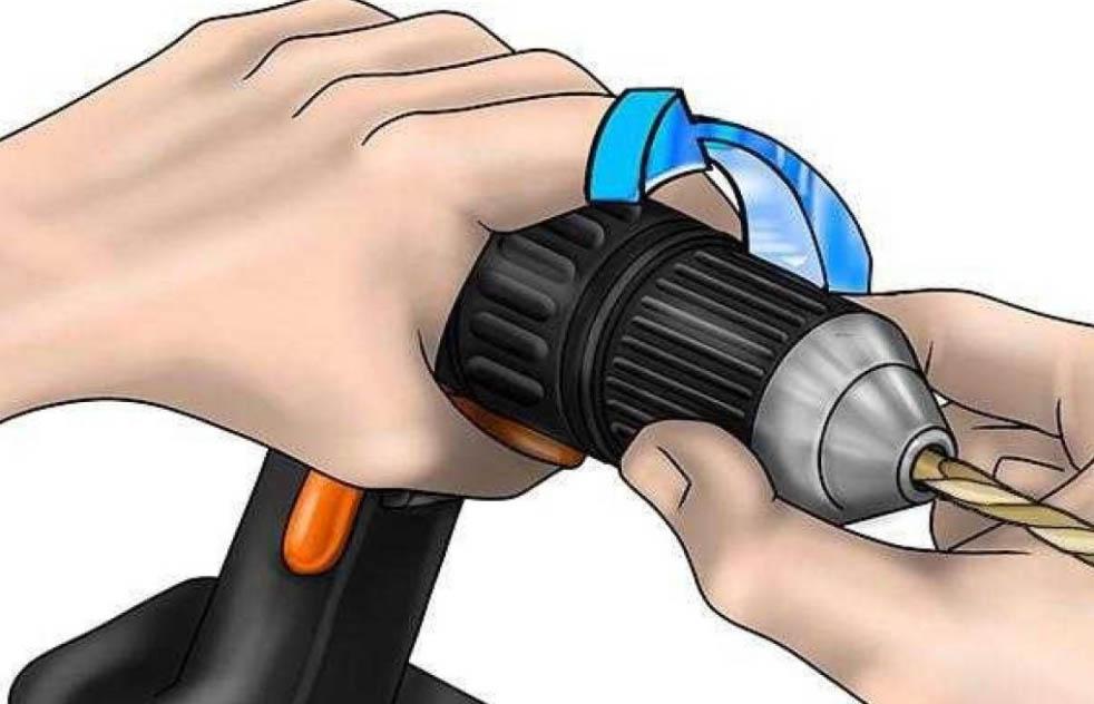 Как снять патрон с шуруповерта