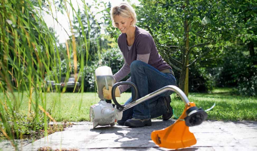 Лучший легкий триммер для травы для женщины