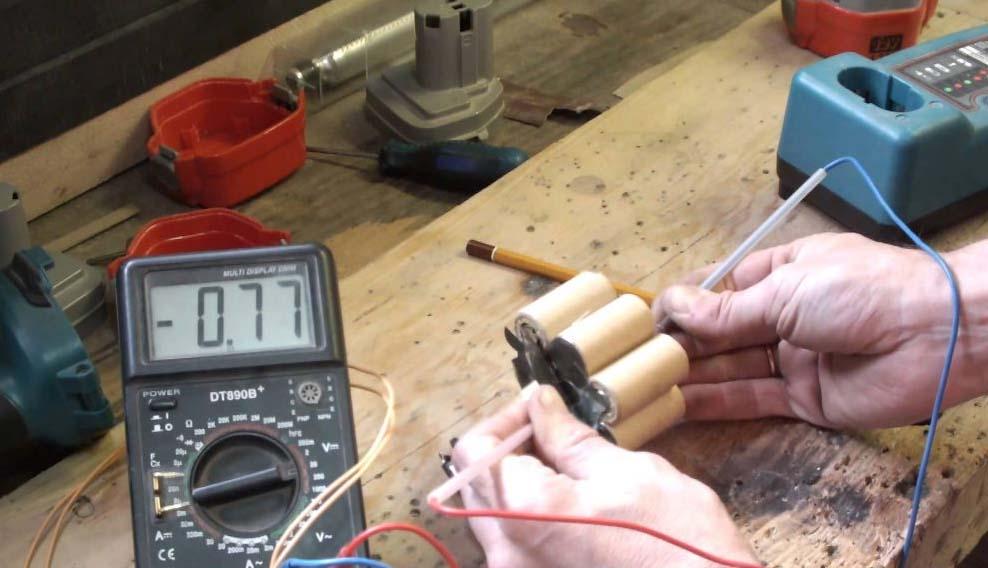 Как заменить аккумуляторы в шуруповерте своими руками