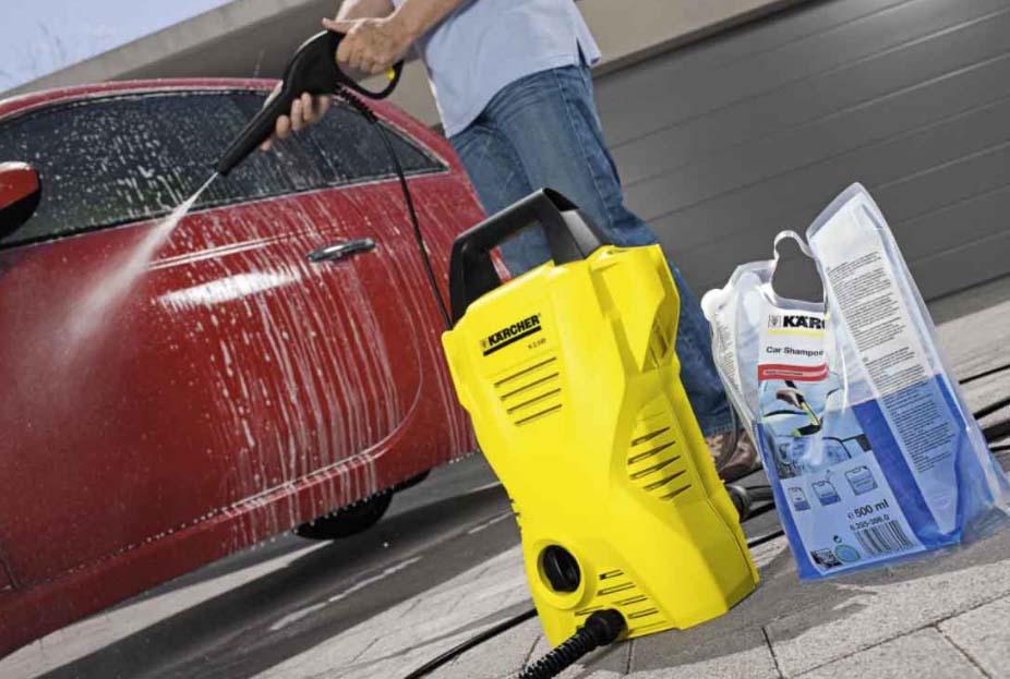 Как мыть машину мойкой высокого давления